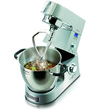Ausstattung und Zubehör der Kenwood KM 096 Cooking Chef Küchenmaschine mit Kochfunktion