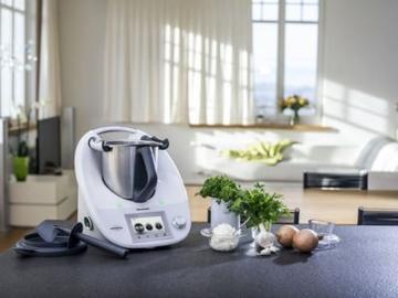 Sicherheit der Vorwerk Thermomix TM5 Küchenmaschine mit Kochfunktion