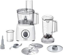 Bosch MCM3200W Kompakt-Küchenmaschine mit 800 Watt in weiß
